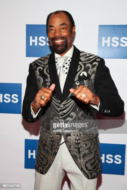 "Former Player, New York Knicks Walt ""Clyde"" Frazier attends The Hospital for Special Surgery 35th Tribute Dinner at the American Museum of Natural..."
