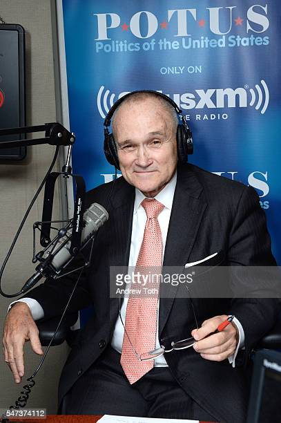 Former Police Commissioner Ray Kelly visits SiriusXM Studios on July 14 2016 in New York City