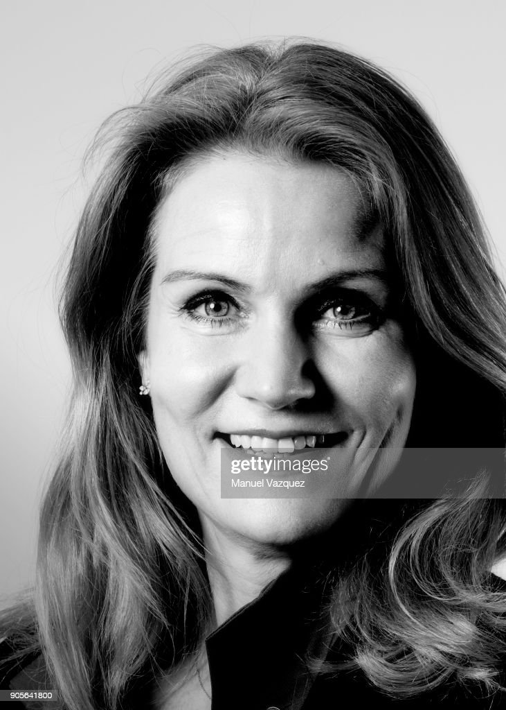 Former politician and current CEO of Save the Children, Helle Thorning-Schmidt is photographed for El Pais on May 3, 2017 in London, England.
