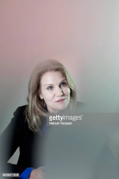 Former politician and current CEO of Save the Children Helle ThorningSchmidt is photographed for El Pais on May 3 2017 in London England