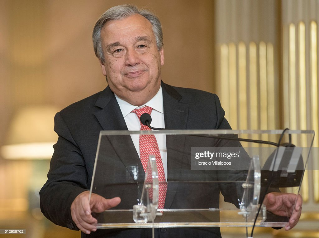 Former Portuguese Prime Minister Is Named As The Next Secretary-general Of The United Nations