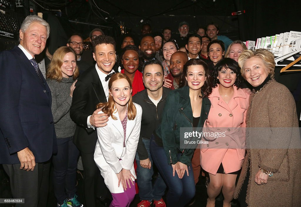 Celebrities Visit Broadway - February 1, 2017