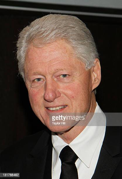 Former President Bill Clinton attends the 'Walk In My Shoes Conversations Between A Civil Rights Legend and His Godson on The Journey Ahead' Book...