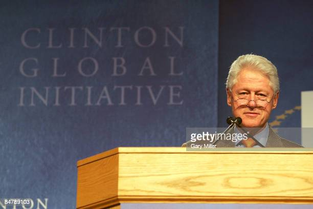 Former President Bill Clinton speaks at the Opening Plenary Session Making a Difference on Campus A Call to Action during the Second Clinton Global...