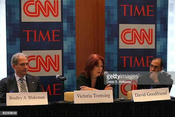 Former President CEO of Freedom's Watch Bradley A Blakeman former deputy assistant attorney general Victoria Toensing and former Deputy Staff...