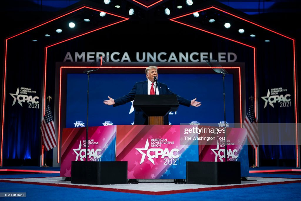 Conservative Political Action Conference CPAC 2021 : News Photo
