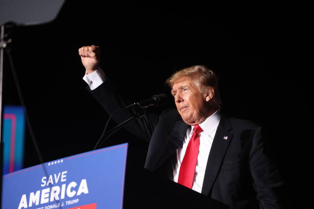 IA: Donald Trump Holds Rally At Iowa State Fairgrounds