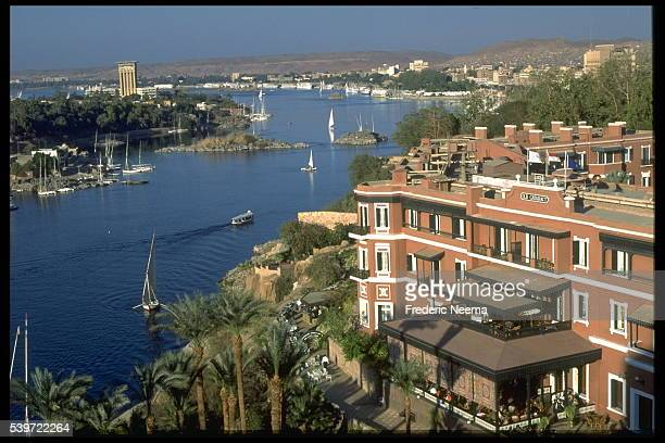 Worlds Best Old Cataract Aswan Hotel Stock Pictures Photos