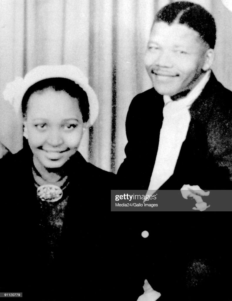 Former President Nelson Mandela and his wife Winnie.