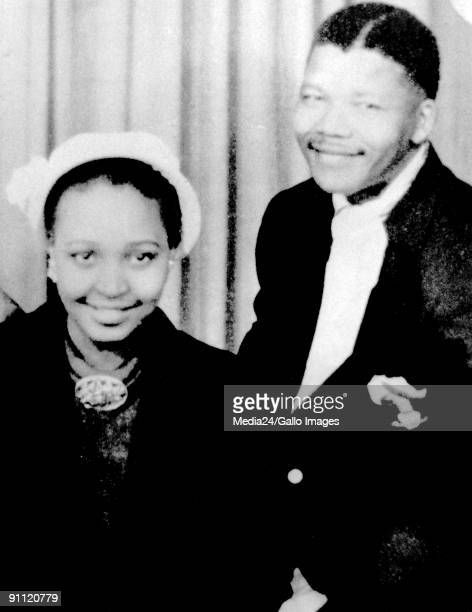 Former President Nelson Mandela and his wife Winnie