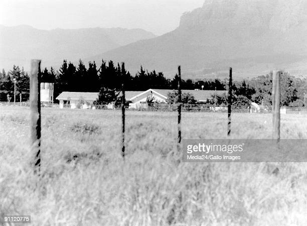Former President Nelson Mandela's home next to the Victor Verster prison near Paarl