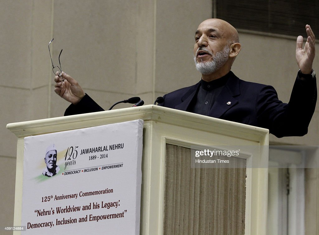 former President of Afghanistan Hamid Karzai, at the two-day
