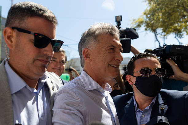 ARG: Former President Macri Attends Hearing On Illegal Espionage Allegations