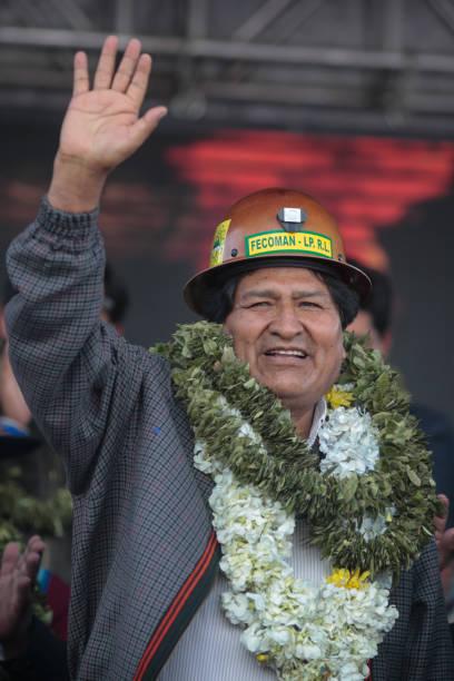 BOL: Former President Evo Morales Visits El Alto