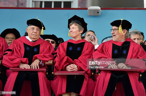 Former President of Brazil Fernando Henrique Cardoso receives an Honorary Doctor of Laws Degree Mary Bonauto receives an Honorary Doctor of Laws...