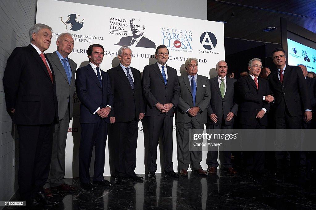 'Vargas Llosa: Cultura, Ideas Y Libertad' Seminar in Madrid - Day 1