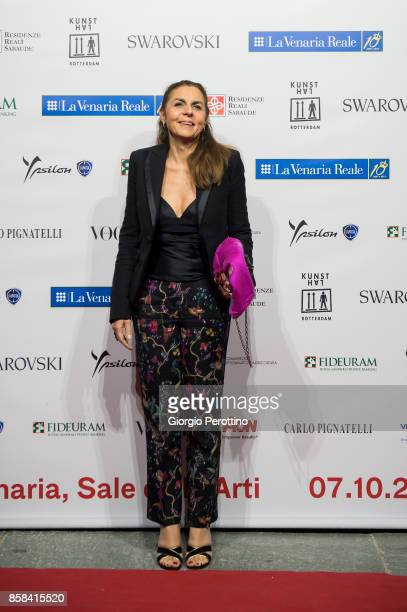 Former President of Confindustria Licia Mattioli attends the opening gala of 'A Different Vision On Fashion Photography' By Peter Lindbergh...