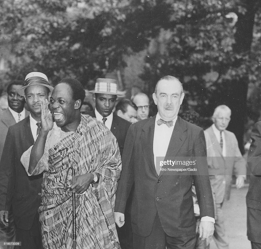 Kwame Nkrumah : News Photo