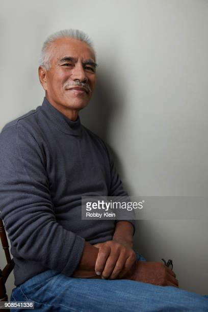 Former President of Kiribati Anote Tong from the film 'Anote's Ark' poses for a portrait at the YouTube x Getty Images Portrait Studio at 2018...