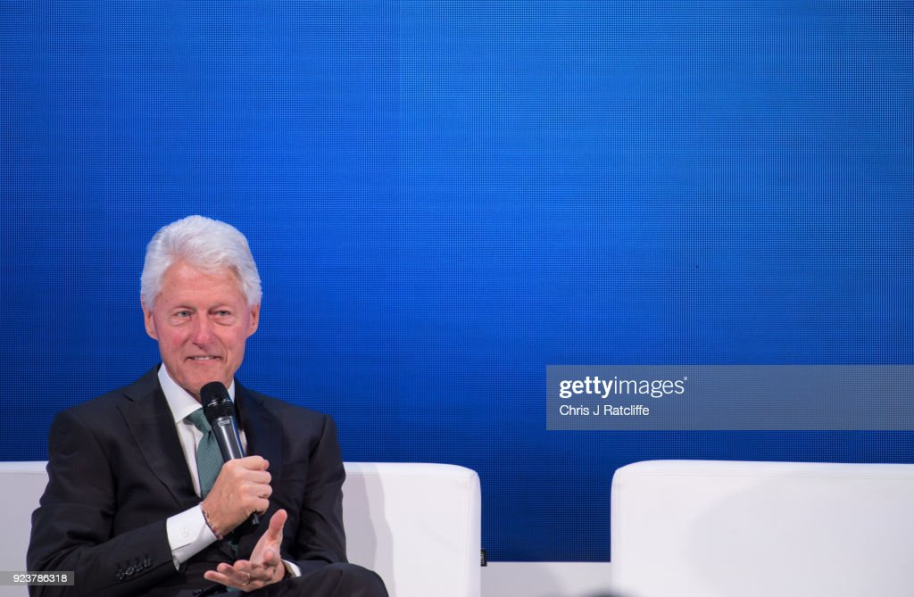 Bill Clinton Makes Keynote Speech At 6th Annual World Patient Safety, Science & Technology Summit