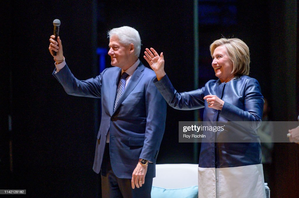 An Evening With The Clintons : News Photo