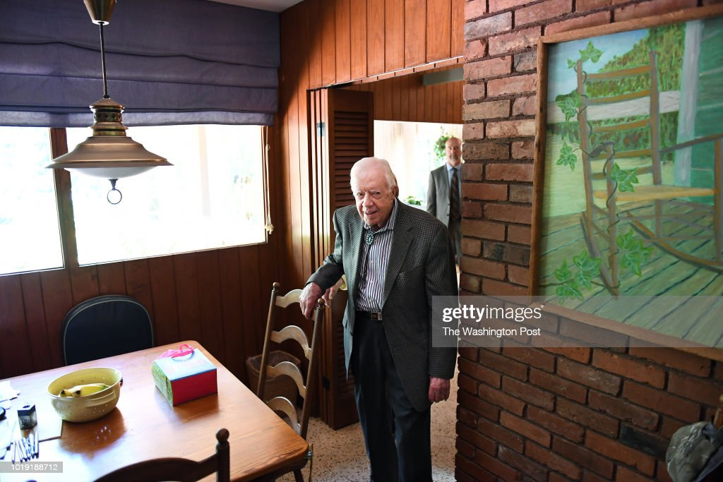 Jimmy Carter - Plains, GA : News Photo