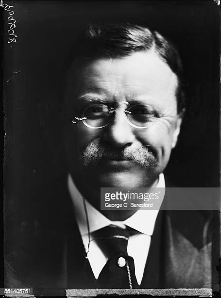 Former President of the United States Theodore Roosevelt London 3rd June 1910