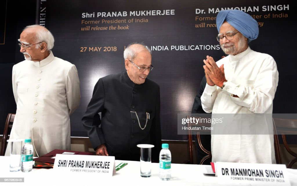 Former President Pranab Mukherjee, Former Prime Minister Manmohan Singh Release A Book On Indias First Prime Minister Jawaharlal Nehru
