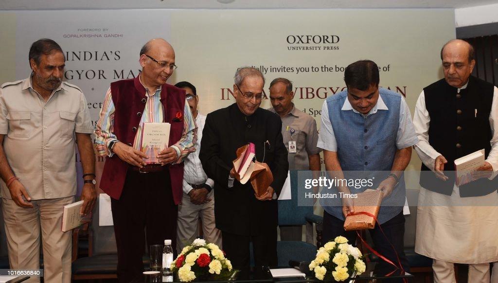 Former President Pranab Mukherjee Releases Book 'India's Vibgyor Man'