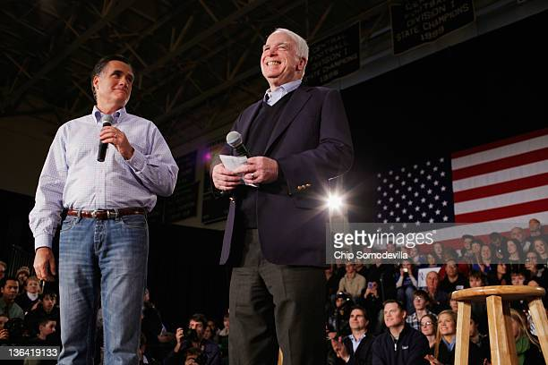 Former presidential nominee US Sen John McCain announced that he is endorsing Republican presidential candidate and former Massachusetts Gov Mitt...