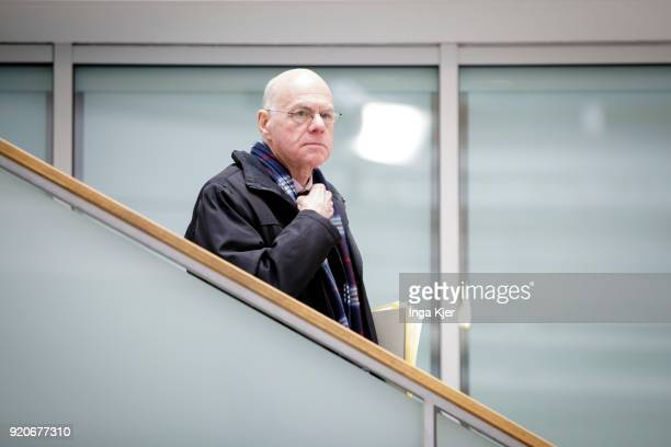 Former presidents of the German Bundestag Norbert Lammert on February 19 2018 in Berlin Germany