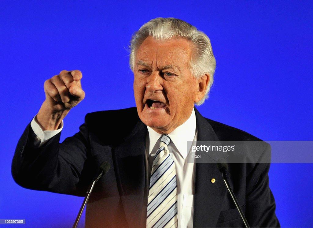 Australian Labor Party Campaign Launch 2010 : News Photo