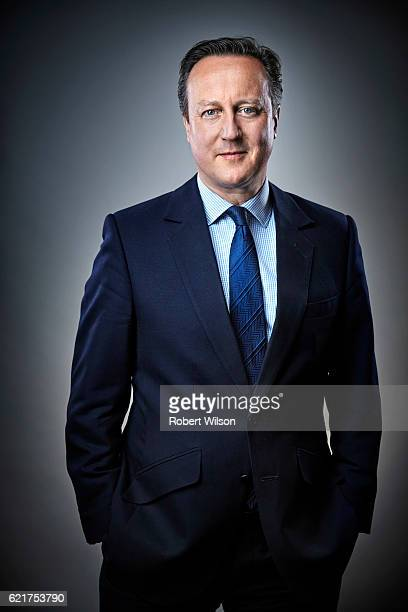 Former Prime minister David Cameron is photographed for the Times on June 1 2016 in London England