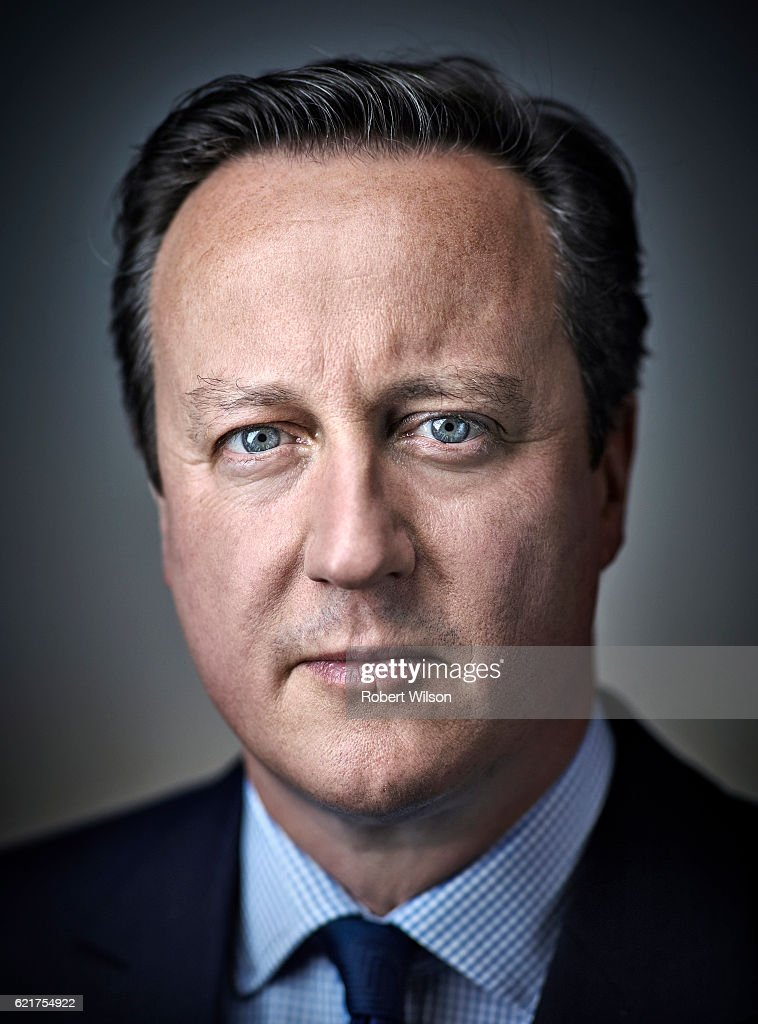 Former Prime minister David Cameron is photographed for the Times on June 1, 2016 in London, England.