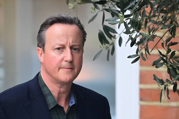 GBR: David Cameron Gives Evidence To Select Committee On Greensill