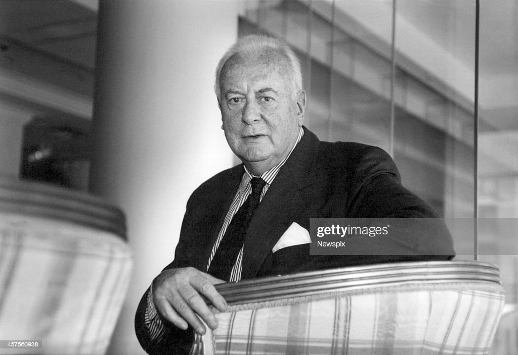 Former Prime Minister Gough Whitlam pictured at an industrial relations conference in Sydney, New South Wales.