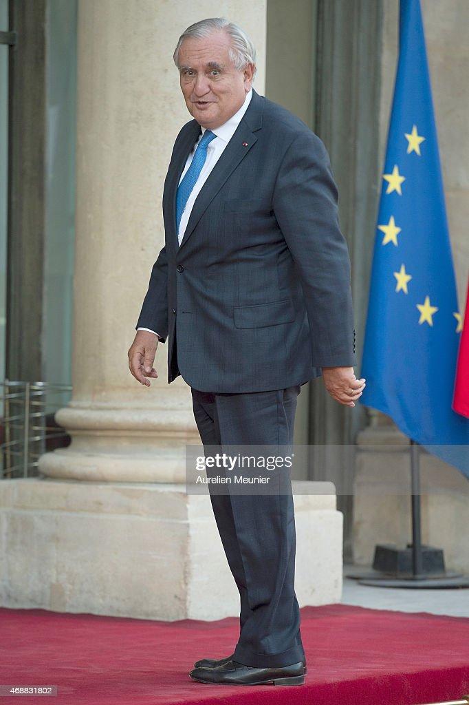 State Dinner At Elysee Palace In Honor Of President Beji Caid Essebsi In Paris