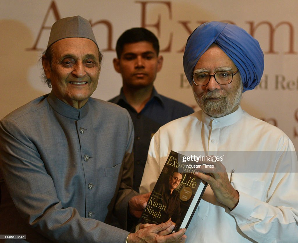 IND: Former Prime Minister Manmohan Singh Launches Book Written By Congress Leader Karan Singh
