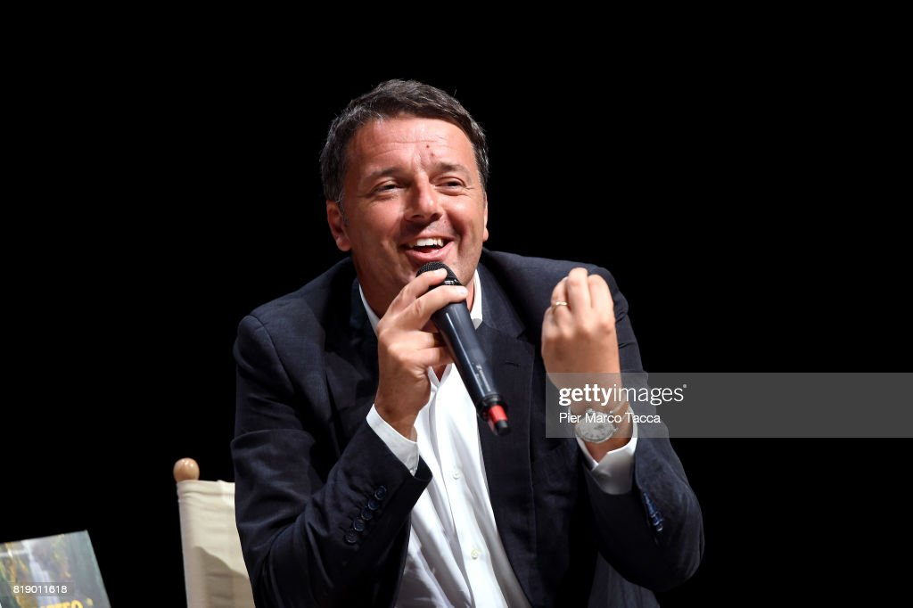 Matteo Renzi Presents His Book 'Avanti'