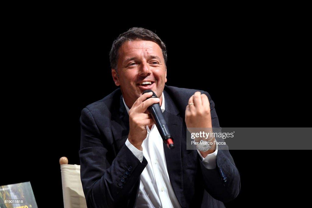 Matteo Renzi Presents His Book 'Avanti'