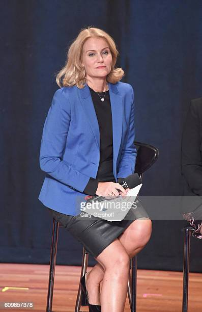 Former Prime Minister of Denmark Helle ThorningSchmidt attends 2016 Global Citizen The World on Stage at Jack H Skirball Center for the Performing...
