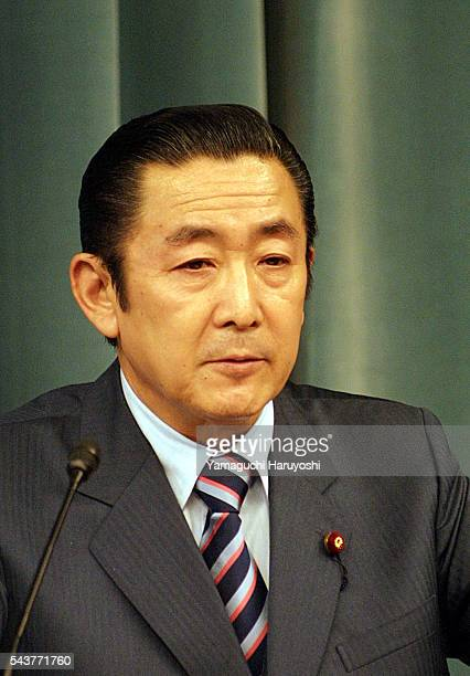 Former Prime Minister Ryutaro Hashimoto is now Minister for Administrative Reform