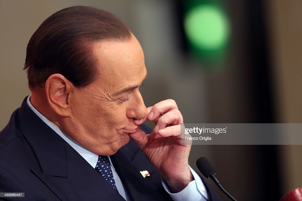 Silvio Berlusconi Attends The Launch Of The Book 'Sale, Zucchero e Caffe'""