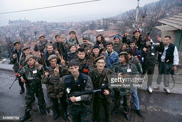 Former prisoner Yuka composed a militia to fight the Serb and the federal army