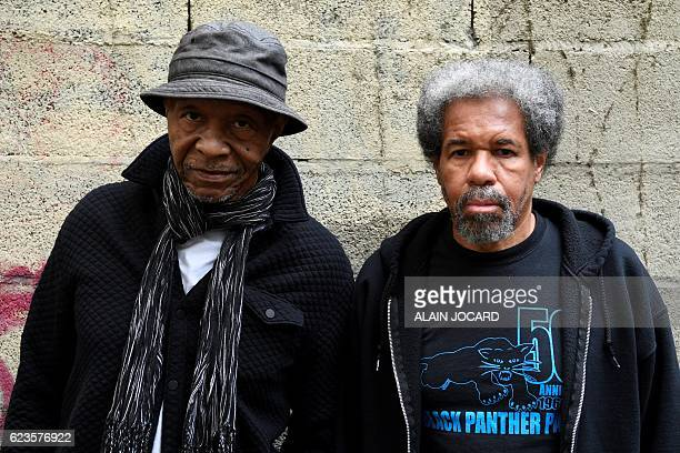 US former prisonners Robert King and Albert Woodfox two exBlack Panthers who were put in solitary confinement at the Louisiana State Penitentiary...