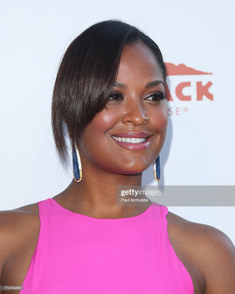 Former Pro Boxer Laila Ali attends the 15th annual DesignCare charity event on July 27, 2013 in Malibu, California.