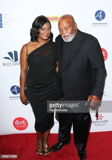 Former Professional Athlete Jim Brown and his Wife Monique Brown attend the 17th Annual Harold Carole Pump Foundation Gala at The Beverly Hilton...