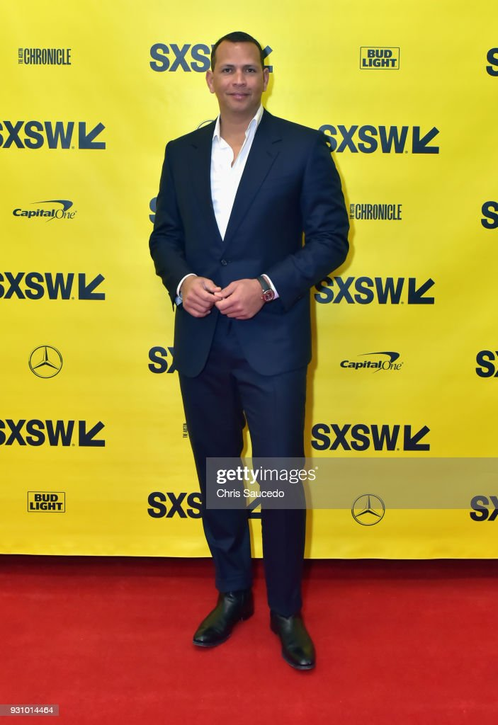 Former professional baseball player Alex Rodriguez attends Alex Rodriguez: Baseball, Business & Redemption w/CNBC during SXSW at Austin Convention Center on March 12, 2018 in Austin, Texas.