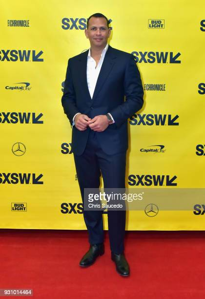 Former professional baseball player Alex Rodriguez attends Alex Rodriguez Baseball Business Redemption w/CNBC during SXSW at Austin Convention Center...