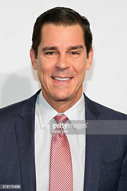 Former professional baseball player Billy Bean attends PFLAG National's Eighth Annual Straight for Equality Awards Gala at The New York Marriott...